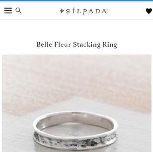 Set of 2 Silpada stack rings